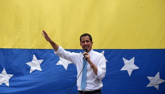 Juan Guaidó, líder de la oposición venezolana y reconocido como presidente encargado por 60 países. (Foto: Federico Parra / AFP).