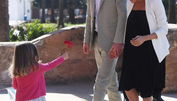 El hijo de los duques de Sussex, Enrique y Meghan será presentado a la prensa el miércoles. (Foto: EFE)