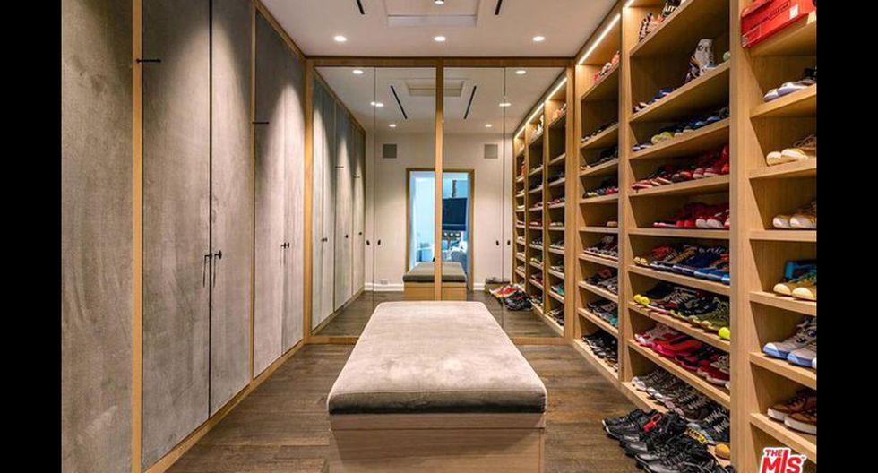 La habitación principal cuenta con un enorme walking closet. Un espacio digno de toda celebridad. (Foto: The MLS)