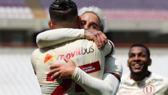 Luis Urruti será jugador de Universitario por segundo año consecutivo. (Foto: Liga De Fútbol Profesional)