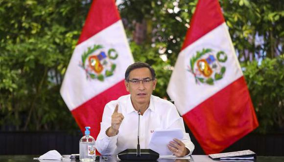 El presidente Martín Vizcarra pidió disculpas a la población por no expresarse con la claridad suficiente (Foto: Presidencia)