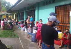 Loreto: 470 indígenas retornan a sus comunidades tras cumplir cuarentena en Iquitos