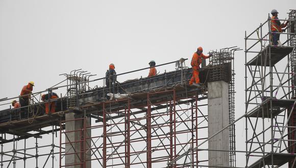 Construcción. Los proyectos aprobados deben adecuarse a los protocolos de salud. (Foto: GEC)