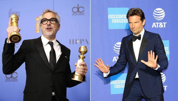 Alfonso Cuarón y Bradley Cooper, entre los voceados para los Oscar 2019. (Foto: Agencias)