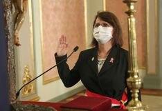 Pilar Mazzetti fue ratificada en el Ministerio de Salud para continuar la lucha contra la pandemia