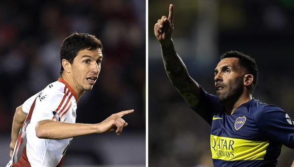 Boca Juniors y River Plate chocarán en la segunda fase de la Copa de la Liga Profesional. (Foto: AFP)