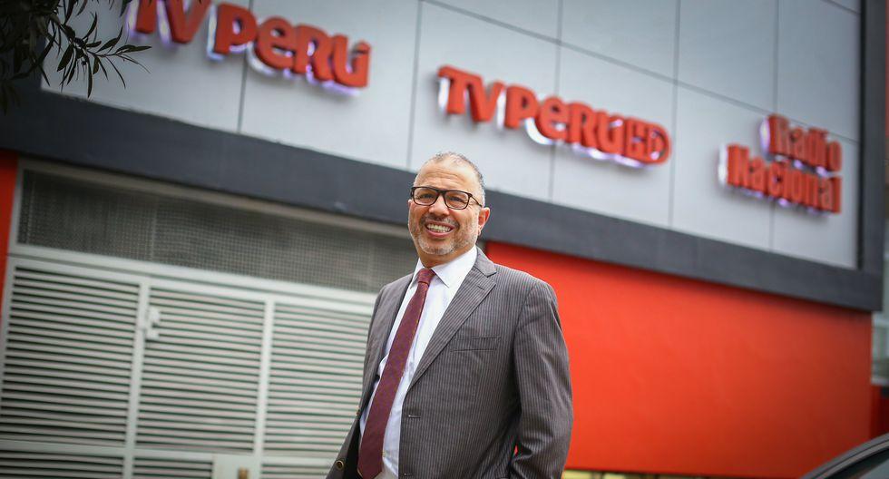 El periodista Hugo Coya fue destituido del cargo de presidente del IRTP a través de una resolución publicada el domingo en el diario oficial El Peruano   Foto: El Comercio