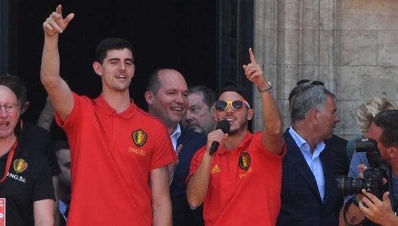 El futuro de Hazard y Courtois estará en manos de Chelsea (Foto: AFP).