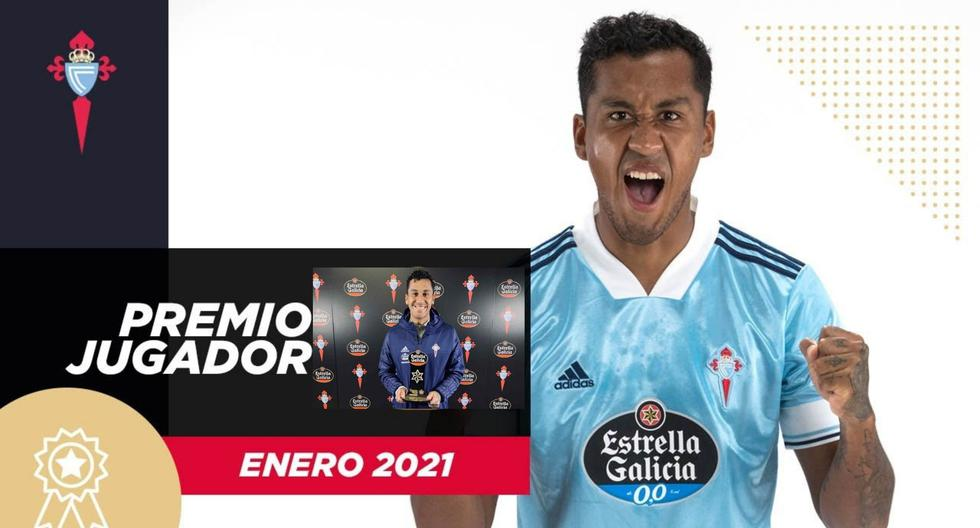 Renato Tapia elegido jugador del mes en Celta (Foto: @RCCelta)