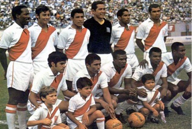 Jugadores de la selección peruana de fútbol en México 70. (Difusión)
