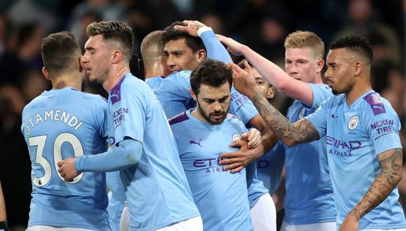 Manchester City venció 2-0 al West Ham por la Premier League   Foto: Reuters