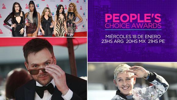 People's Choice Awards: 5 cosas que debes saber de la ceremonia