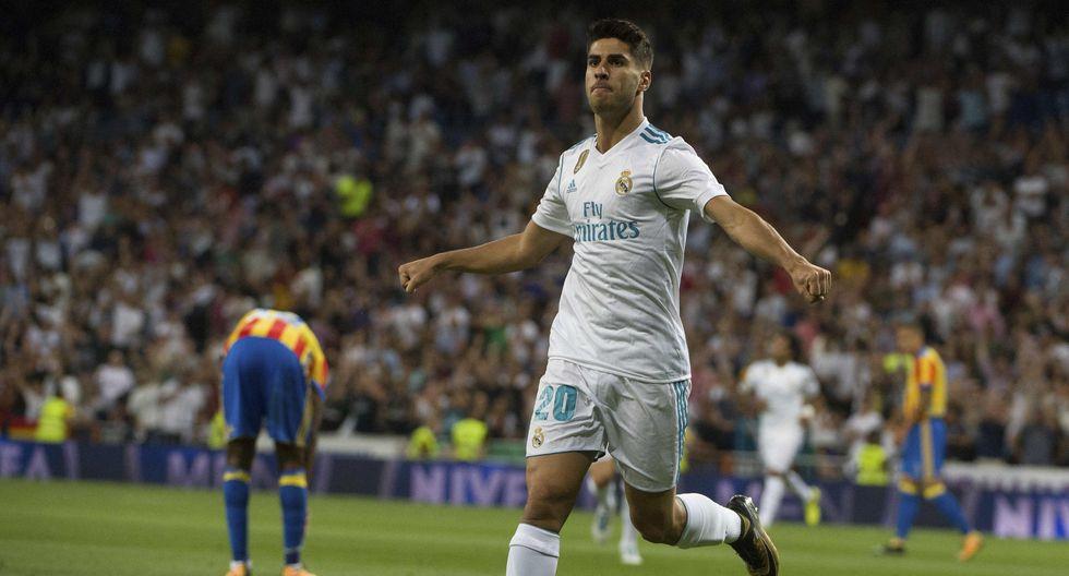 Marco Asensio del Real Madrid tiene una cláusula rescisión de 350 millones de euros. (Foto: AFP/Reuters)