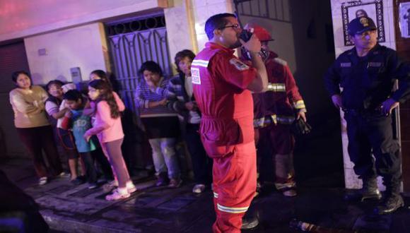 Incendio en el Cercado de Lima dejó un afectado por asfixia