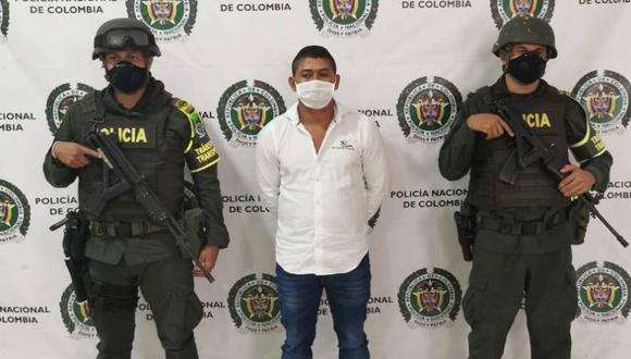 Giovany Alberto Cortés, alias Missi, podría ser solicitado en extradición por Estados Unidos. (Foto: Policía Nacional de Colombia).