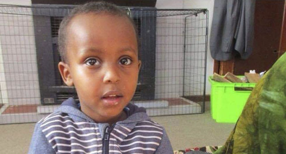 La víctima más joven del ataque terrorista en Nueva Zelanda: Mucaad Ibrahim, de 3 años. (AP).