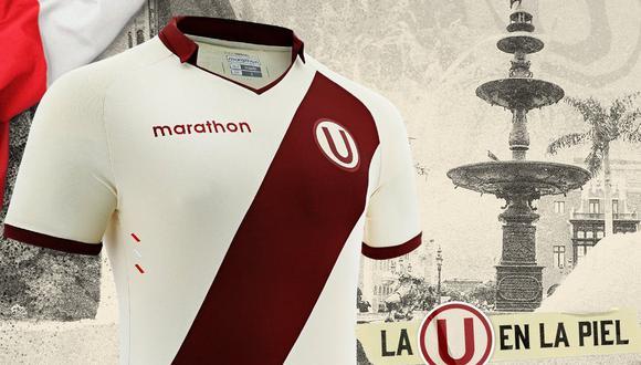 Universitario de Deportes publicó su nueva camiseta por el Bicentenario del Perú. (Foto: Universitario)