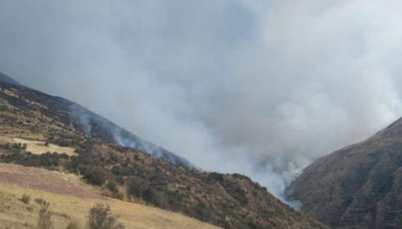 Cusco: incendio forestal en Acopía y Checacupe deja un menor muerto