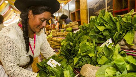 El Gran Mercado de Mistura es el corazón de la feria por la gran variedad de productos peruanos que se pueden encontrar.