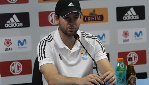 Manuel Barreto es entrenador de Sporting Cristal desde septiembre del 2019. (Foto: GEC)