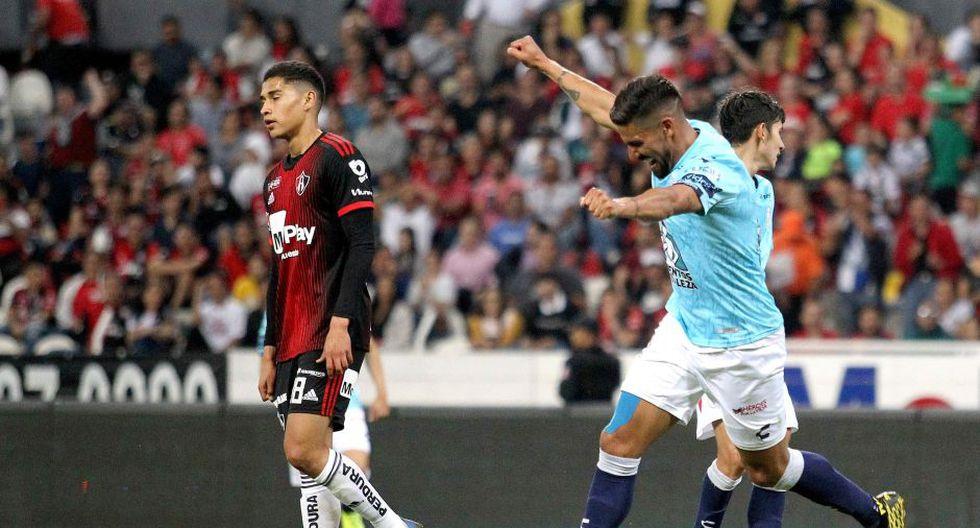 Pachuca venció al Atlas por la Liga MX 2020 | Foto: AFP