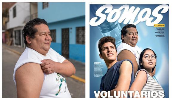 La historia de Rivera fue publicada por primera vez en Somos en setiembre del 2020. En diciembre fue seleccionado como uno de los personajes héroes de la pandemia de ese mismo año. (Foto: Elías Alfageme)