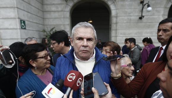 Luis Castañeda Lossio, alcalde de Lima. (Foto: USI)