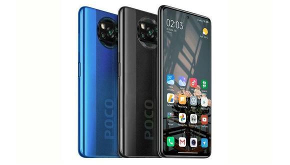 El nuevo Poco X3 NFC, con pantalla de 6,7 pulgadas, batería de 5.160 mAh y cámara de 64 megapixeles. (Difusión)
