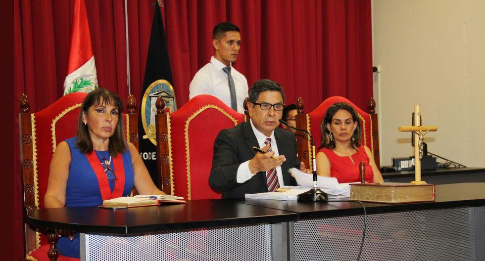inició el juicio oral contra el confeso feminicida Carlos Javier Hualpa vacas, quien, en el 2018, prendió fuego a la joven Eyvi Ágreda en un bus en Miraflores (Foto: Corte Superior de Justicia de Lima).
