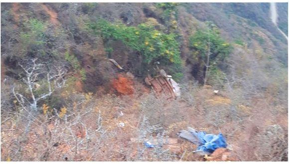 La Libertad: pobladores de la zonas ayudaron con el rescate de los cuerpos.