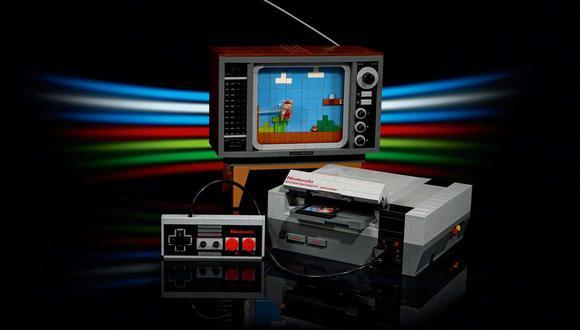 Así es la NES LEGO. (Difusión)