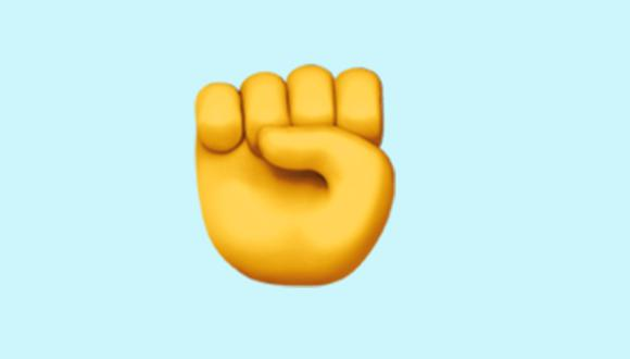 Conoce lo que significa el emoji llamado Raised Fist en WhatsApp. (Foto: Emojipedia)