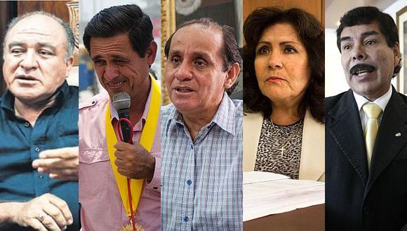 Alcaldes investigados por delitos graves buscan la reelección