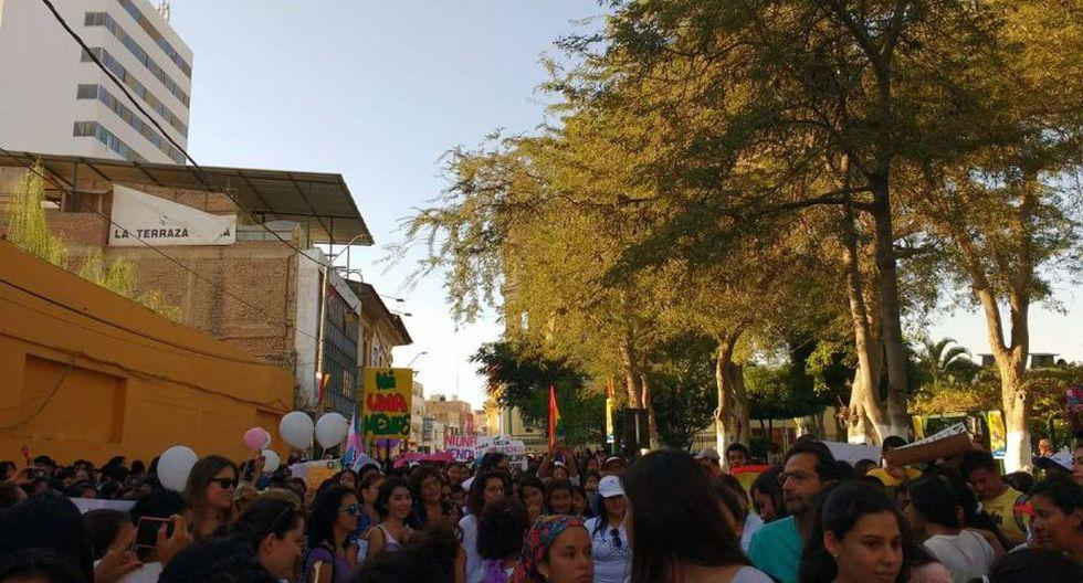#NiUnaMenos: las movilizaciones en el interior del país [FOTOS] - 33