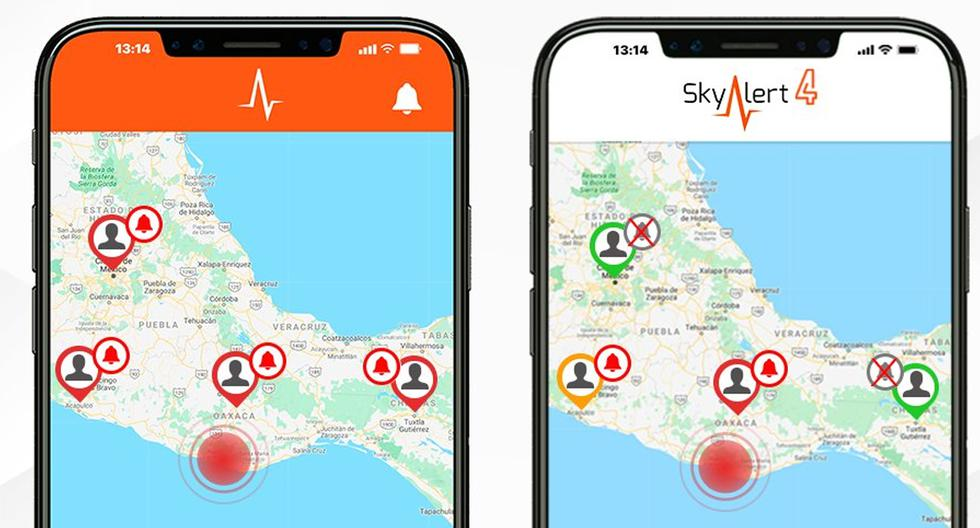 Conoce las aplicaciones que te informan si habrá un terremoto cerca a tu zona. (Foto: SkyAlert)