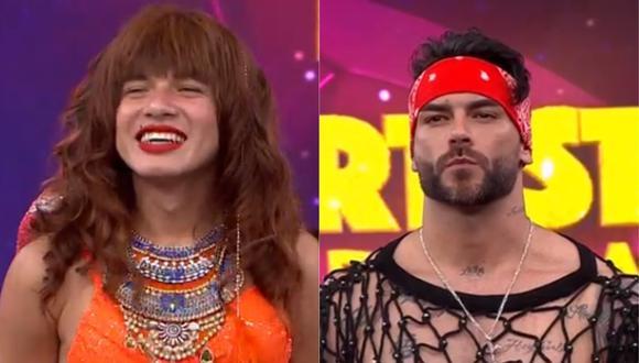"""'La Uchulú' es parte de la semifinal de """"El artista del año"""". (Foto: Captura América TV)."""