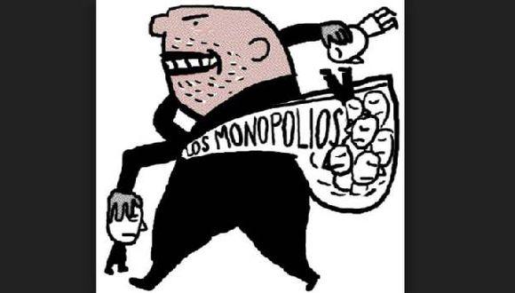 En EEUU se lucha muy fuerte contra la existencia de monopolios. (Ilustración: emaze)