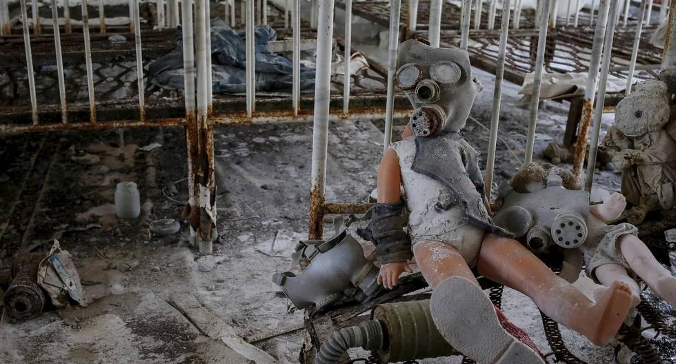 La ciudad Pripyat, otrora hogar de los trabajadores de la planta nuclear de Chernóbil y que por entonces alojaba a 52.000 personas, es hoy un territorio abandonado que puede resultar espeluznante. (Foto: Reuters)