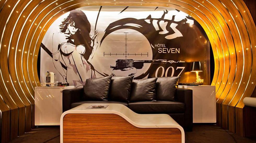 Pasa una noche como James Bond en esta habitación en París  - 1