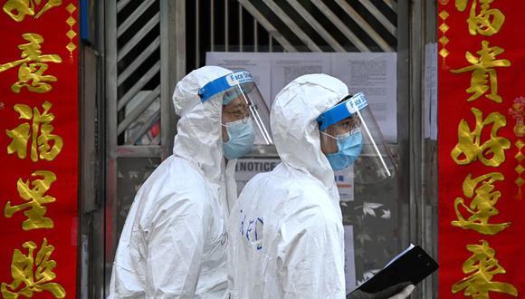Hong Kong no detecta ningún caso de coronavirus por primera vez en 7 meses. (Peter PARKS / AFP).