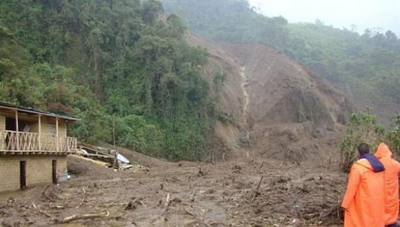 Deslizamiento de tierra en Cusco deja dos muertos