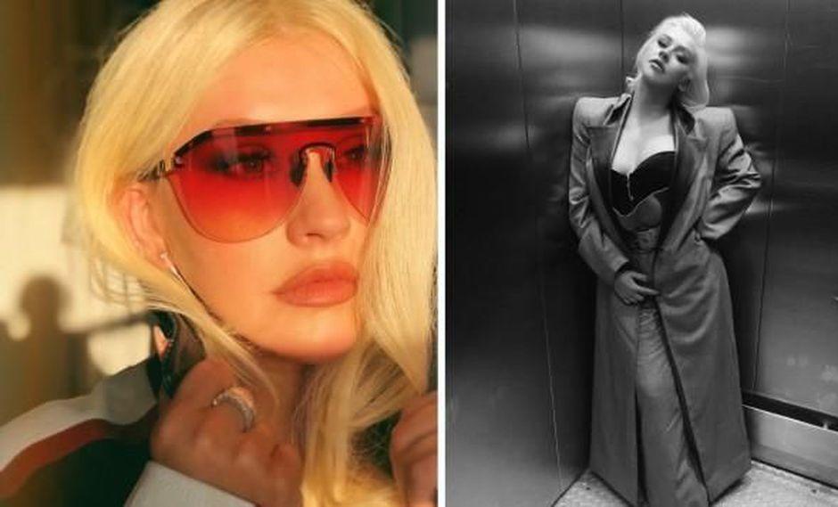 Cantante Christina Aguilera. (Fotos: Instagram)