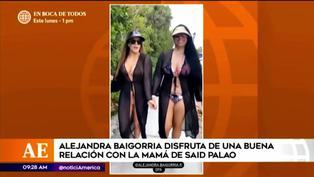 Alejandra Baigorria presume su amistad con la mamá de Said Palao en redes sociales