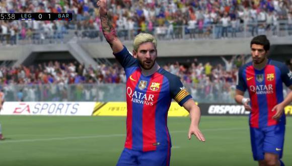 ¿Qué sucede si juegas FIFA 17 con 11 jugadores iguales a Messi?