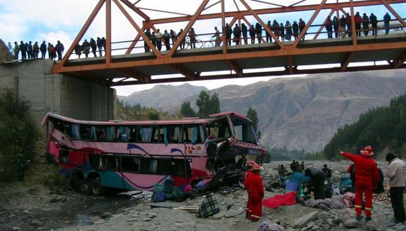 Elecciones 2014: al menos 12 muertos en accidente de Áncash