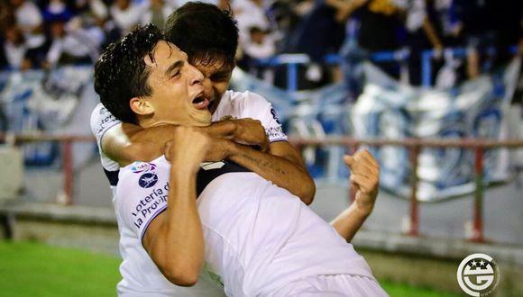 Gimnasia vs. Rosario Central: Faravelli marcó el 1-1 con este golazo. (Foto: captura)