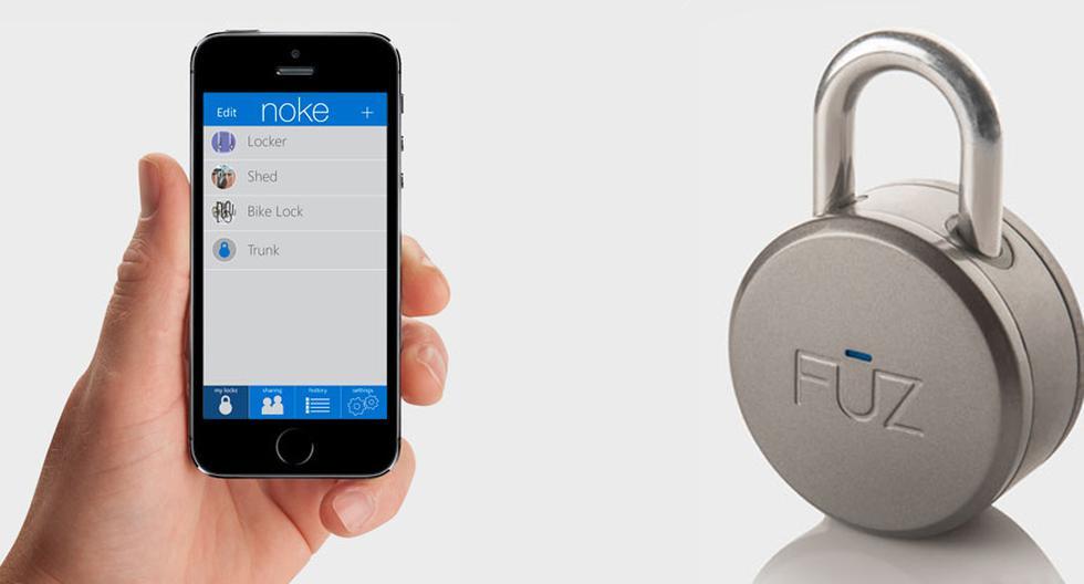 Olvídate de las llaves y las claves con este candado Bluetooth - 1