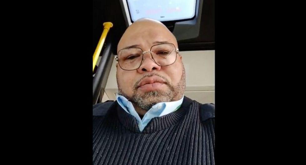 Jason Hargrove | Muere por coronavirus el conductor de bus que le pidió a los pasajeros cubrirse la boca al toser. Foto: Captura de video