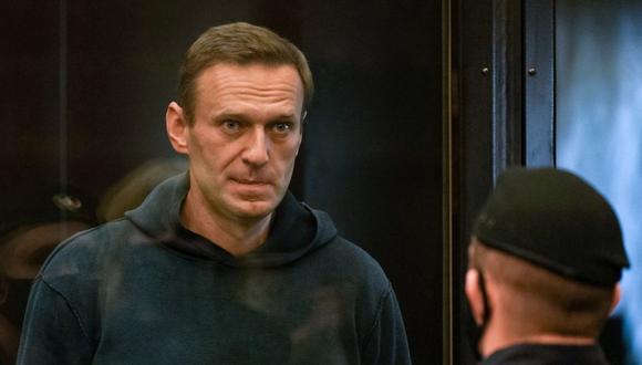 """Alexei Navalny dice que Vladimir Putin pasará a la historia como """"envenenador"""". (AFP)."""