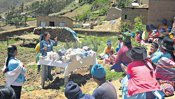 Las ONG complementan la lucha contra la anemia de los distintos sectores del Gobierno, principalmente en las zonas rurales del país. (Foto: ong prisma)
